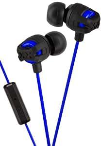JVC Xtreme Xplosives In-Ear Kopfhörer mit In-Line Mikrofon HA-FR201-AEF - Blau