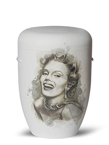 The Coffin Company Cenicero Biodegradable para Cremación, Tamaño Adulto, Color Marrón Marfil (caseta en el Viento)