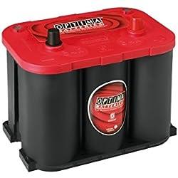 Optima Red Top Rt R 4.2 Batterie Démarrage Sprial Cell, 12V 50Ah 815 Amps (En)