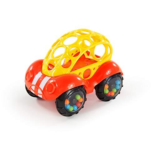 Oball Spielzeugauto mit Rassel, rot-gelb