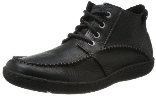 ROCKPORT Men's Edgeway Avenue Moc Mid Boots Black V75222 (UK 6)