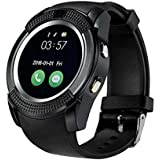 Xiomi V8 Smart Watch With Camera || Smart Watch With Memory Card|| Smart Watch With Sim Card Support ||fitness Tracker|| Bluetooth Smart Watch||Wrist Watch Phone|| Smart Watch With Facebook. Whatsapp|| 4G Smart Watch||Any Color ||Best In Quality|| Compati