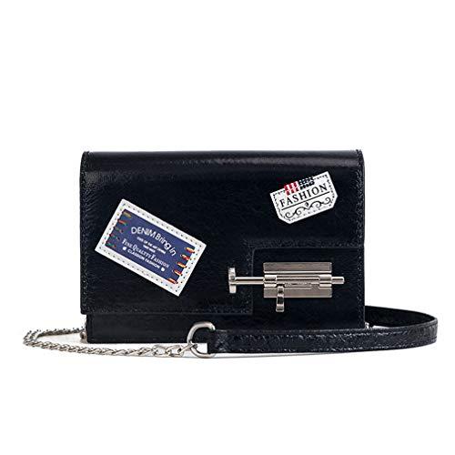 d910d21142 Distintivo di screpolature Piccolo pacchetto Nuova borsa a tracolla di  personalità di modo Borsa di Messenger