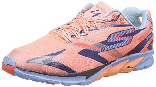 Skechers GO Run 4, Chaussures de Running Compétition femme Rose - Pink (COLB)