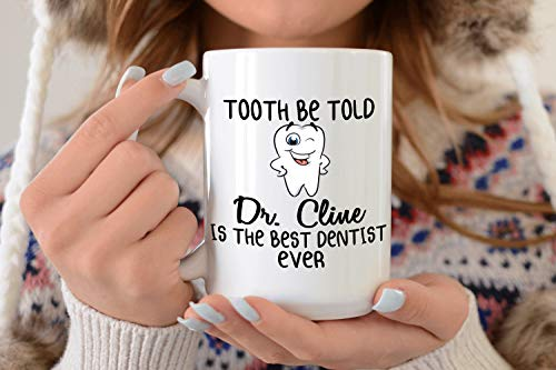 Personalised Funny Coffee Mug Tea Cups, Custom Dentist Mug, Gift For Dentist, Personalised Dentist Cup With Name, Dentist Gift, Dental Student Mug, Dental School Graduation 11 Oz White