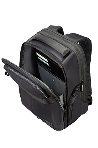270a6062de Samsonite Cityvibe Zaino Porta PC, Espandibile, 13''-14'', 26 litri, 40 cm,  Jet Black