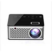 HRFHLHY Miniature projector mini Lightweight projector with computer home HD LED projector