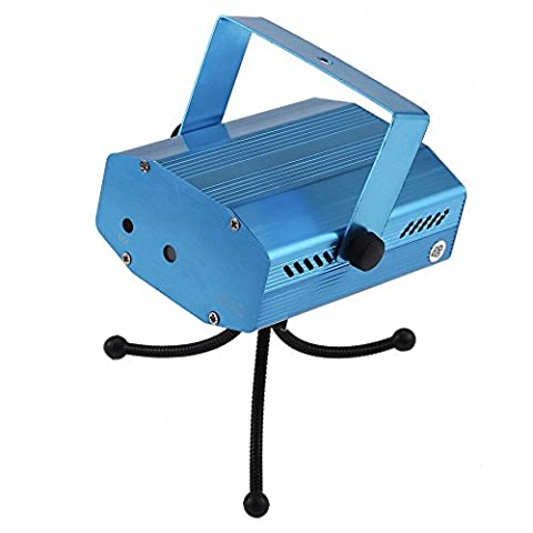 Docooler LED Projektor Licht/Mini B¨¹hne Effekt-Licht, 12 Patterns Strobe Flash/Sprachaktivierte f¨¹r Club-Disco-Party-Feier
