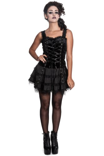 Hell Bunny Kleid HARPPER DRESS Black