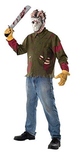 Imagen de rubbies  disfraz de jasón para hombre, talla l 50  52  15806std
