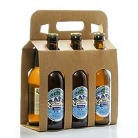 Pack de 6 bières blanches artisanales du Quercy Brasserie Ratz 6 x 33cl soit 198cl : Sur des notes d'épices et d'agrumes, profitez de la dégustation d'une bière blanche pour vous désaltérer.Sa fine mousse et son coté acidulé y apporteront encore plus...