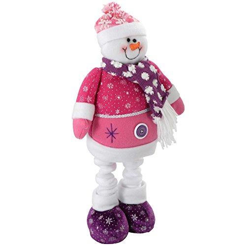 WeRChristmas - Figura decorativa navideña (60 cm, diseño de hombre de nieve,...