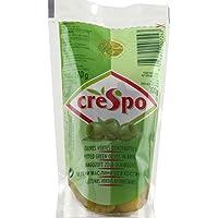 Crespo - Olives vertes dénoyautées - Le paquet de 170g - Prix Unitaire - Livraison Gratuit Sous 3 Jours