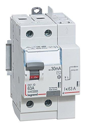 Legrand LEG411633 - Interruptor diferencial dx-id Tornillo/Auto 2P 63 A 230 V...