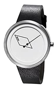 TACS Point Line Plane Analog White Dial Unisex Watch - TS1501A