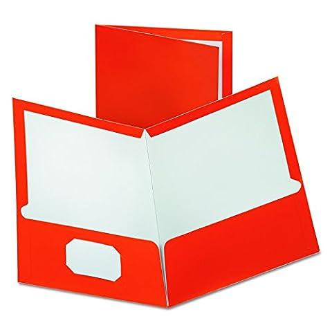Oxford 5049580 Metallic Two-Pocket Folders, Copper,
