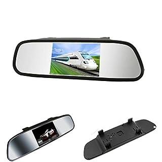 ROGUCI Rückfahrkamera / Einparkhilfe, mit LCD-TFT-Farbbildschirm (4,3