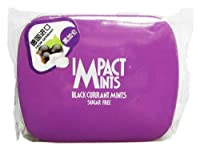 Impact Sugar Free Mints - Black Currant, 14g X Pack of 2