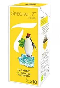 SPECIAL.T by Nestlé Infusion Biologique Menthe Glaciale 10 capsules