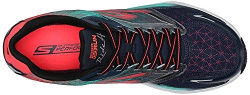 Skechers Go Run Ride 4, Chaussures de sport femme Navy/Coral
