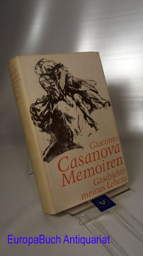 Memoiren - Geschichte meines Lebens. Geschichte meines Lebens. Mit Illustrationen von Wilhelm M. Busch. Buchgemeinschaftsausgabe.