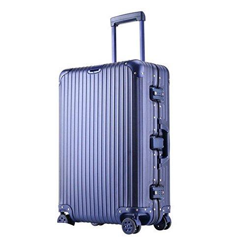 All-alluminio-magnesio in lega Rod Scatola Affari Valigia blue