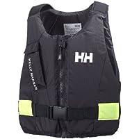 Helly Hansen Rider - Chaleco para deportes de agua, color ebony - 60-70 kg