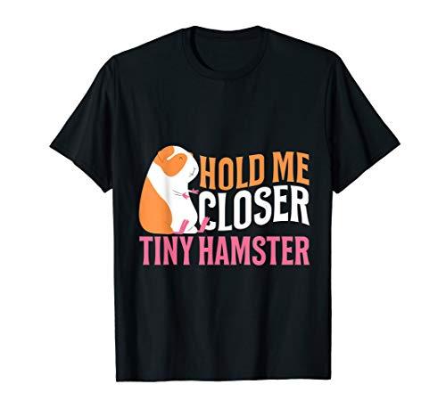 Niedliche Haustier Geschenkidee Frauen Hamster T-Shirt (Hamster T-shirt)