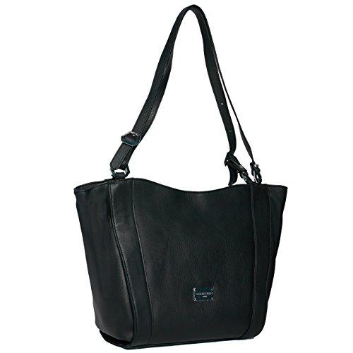 Cherry paris- PARIS- Sac porté épaule- cuir- femme noir