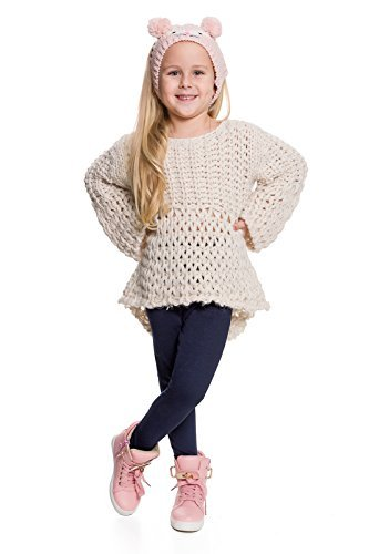 Hi! Mom WINTER KINDER LEGGINGS volle Länge Baumwolle Kinder Hose Thermische Material jedes Alter child28 - Marine, EU 128-134