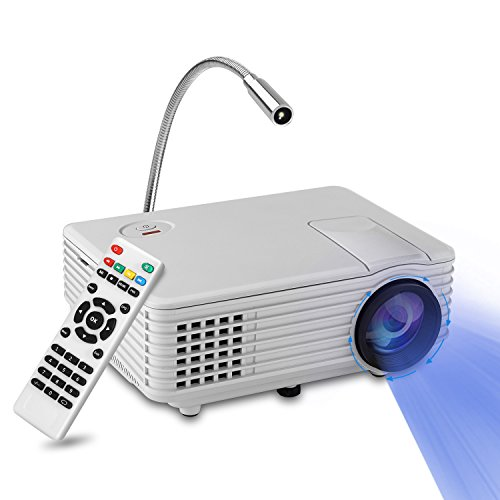 Mini Proyector LED, YOKKAO Videoproyector Portátil LED LCD a todo color con...