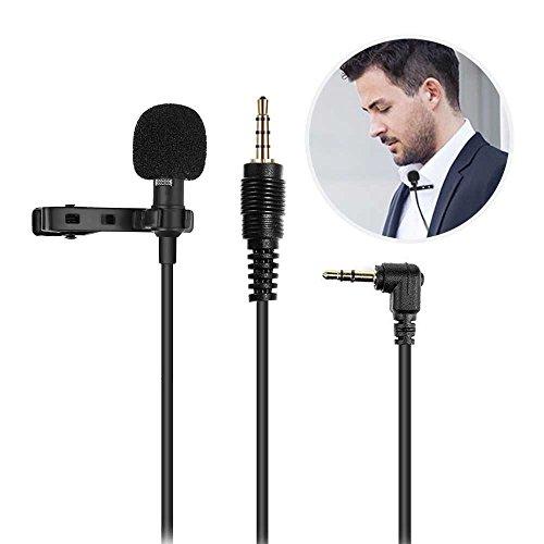 Mikrofon für Smartphone, Ubegood Kondensator-Mikrofon Adapter abnehmbaren Lavalier Mikrofon für Smartphone, iPhone & Android, Laptop Macbook, iPad