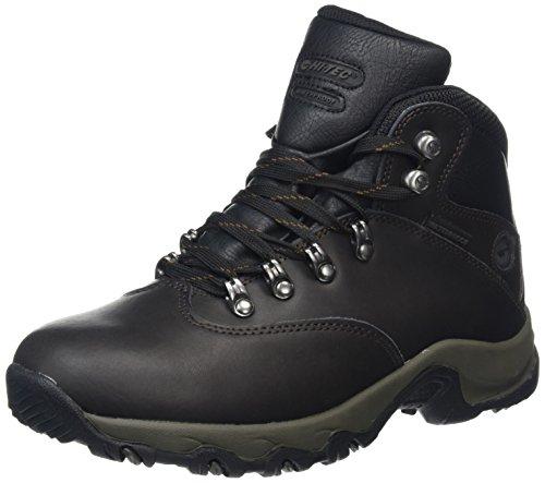 Hi-Tec Ottawa Ii Waterproof, Chaussures de Randonnée Hautes Femme Marron (Dk Chocolate)