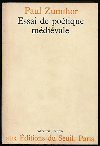 Essai de poétique médiévale - Edition originale - Collection