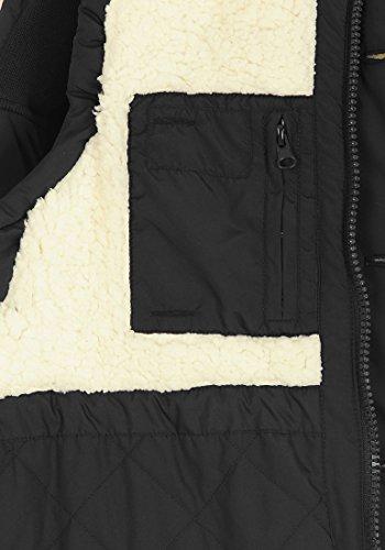 BLEND 703646ME - Veste sans manches - à capuche - Homme Black