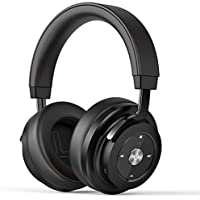 SADES Bluetooth Headphones Wireless Stereo Over-Ear Headset with Mic Hi-fi Sound, Over ear Noise Cancelling Headphone, Bluetooth 4.1 for Mobile Phones/ TV/ Mac/ PC - Black