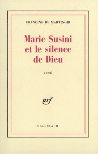 Marie Susini et le silence de Dieu
