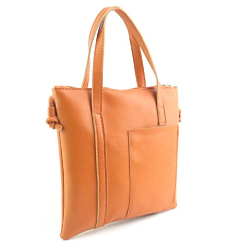 Xjp Women Fashion Handbag Large Tote Purse Shoulder Bag Braun