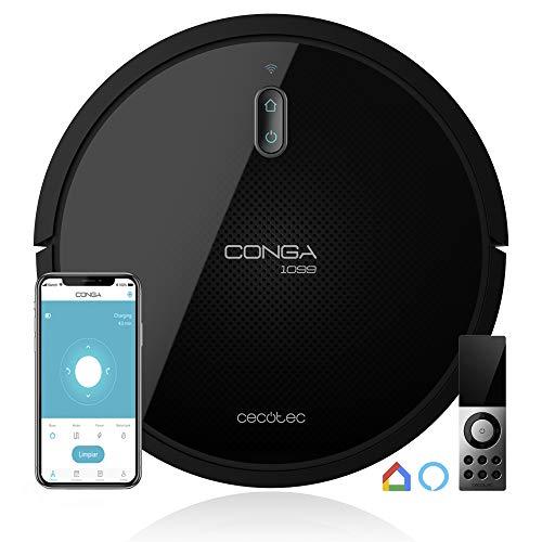 Angebot: Cecotec Conga 1099 Series Connected – 1400 Pa, iTech Smart 2. 0, Alexa und Google Home-kompatibel, einschließlich Fernbedienung und Magnetstreifen für nur 157.99€ statt bisher 286.9€ auf Amazon.