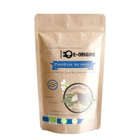 E-ORIGINE - Protéine de pois Chocolat 100% Vegan & BIO