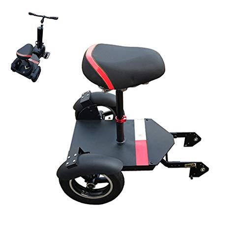 A&DW Scooter Eléctrico 2 En 1, Patinete Eléctrico para Adultos, Monociclo De 500 W con Un Neumático De Grasa, Monociclo...