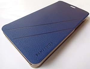 Yinjimosa Premium Metal Flip Cover Case For Lenovo S850 (Blue)