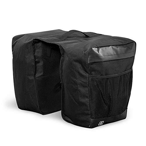 Fahrradtasche mit Doppelgepäckträgern, 25 l, 600 PVD, Reflektoren, Fahrrad, Sattelablage, Gepäckträger, Handtaschen für Cargo-Laptop, Rücksitz-Messenger-Pack, Satteltaschen für Radsport und Sport