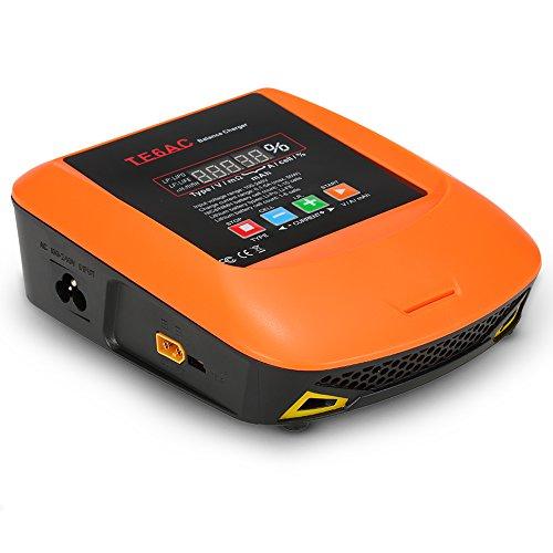 Goolsky TE6AC Max 50W 5A AC/DC Equilibre Professionnel Chargeur pour Batterie NiMH de 1s-6s LiPo/LiFe 1s-15s