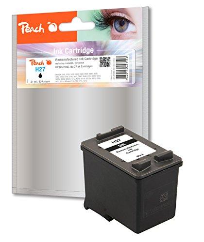 Preisvergleich Produktbild Peach Druckkopf schwarz kompatibel zu HP No. 27, C8727AE