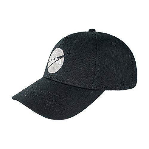 Alpha Industries Herren Caps / Snapback Cap NASA schwarz Verstellbar