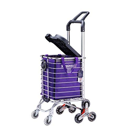 DS carrello Rimorchio pieghevole/carrello/Carrello portatile a sei ruote quadrate/Carrello/Carrello carrello/Scooter vecchio # (dimensioni : B)