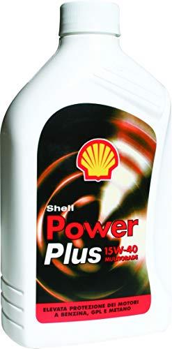 Olio Shell Power Plus 15w40 1 L Lubrificante auto