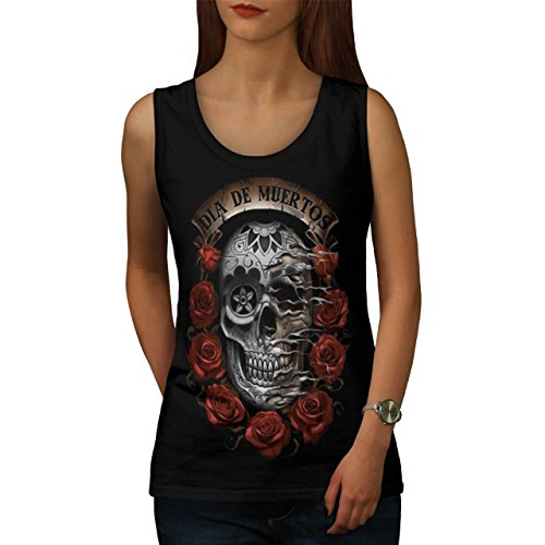 day-of-the-dead-skull-skeleton-women-new-black-m-tank-top-wellcoda