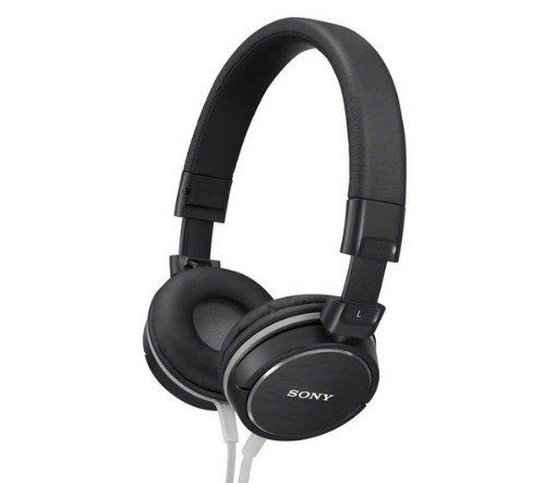 Sony cuffie ad archetto mdr-zx600 - nero + cavo audio stereo jack maschio / maschio (1,2 m)